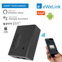 Ewelink tuya WiFi Switch Garage Door Controller for Car Garage Door Opener APP Remote Control Timing Voice Control Alexa Google