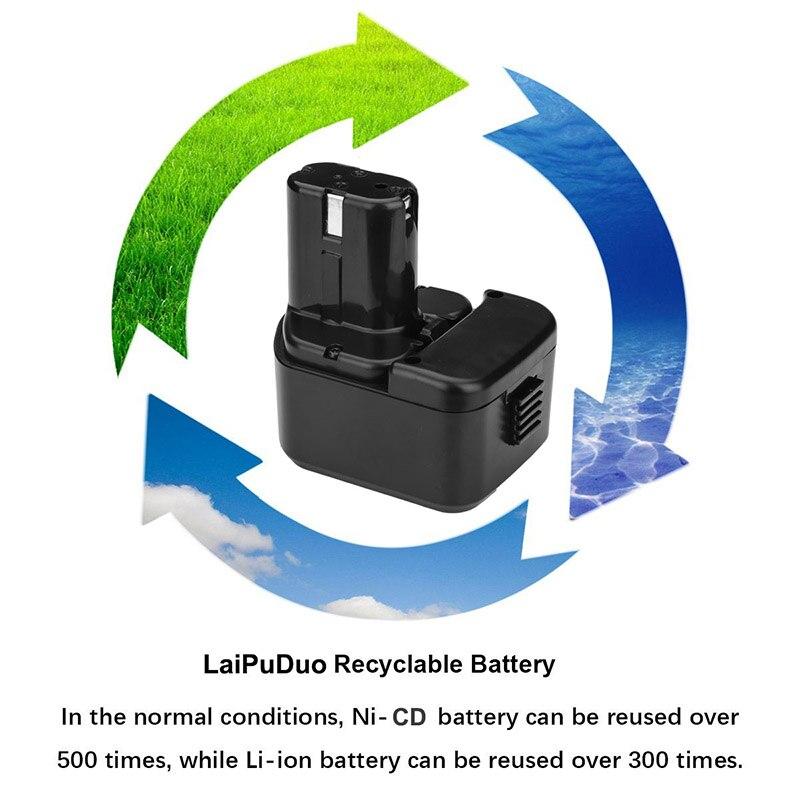 HOT batteryfor Hitachi EB1214S DS12DVF3 12V 2.0Ah
