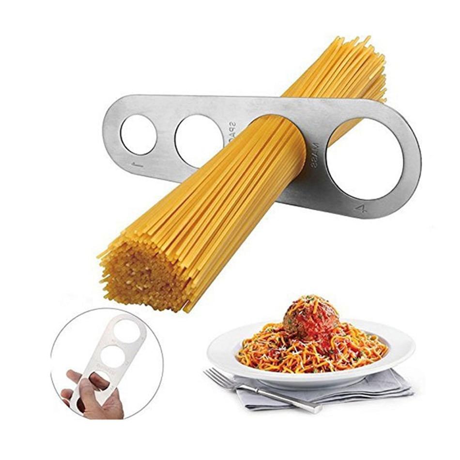 VOGVIGO Stainless Steel Spaghetti Measurer Pasta Noodle Measure Easy Use Noodle Measurer Kitchen Accessories