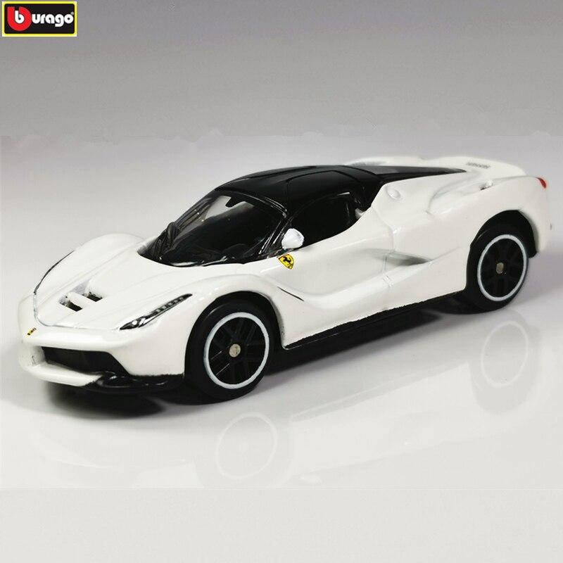 Bburago 1:64 LA Ferrari 458  Car Model Die-casting Metal Model Children Toy Boyfriend Gift Simulated Alloy Car Collection