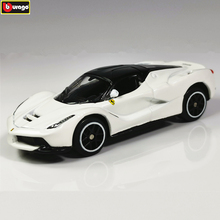 Bburago 1:64 LA Ferrari 458  Car Model Die-casting Metal Children Toy Boyfriend Gift Simulated Alloy Collection