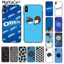 Maiyaca Oreo Koekjes Telefoon Case Cover Voor Apple Iphone 11 Pro 8 7 66S Plus X Xs Max 5S Se Xr Mobiele Cover(China)