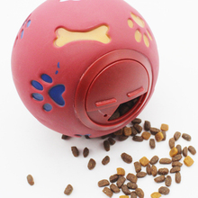 Pet Products Pet Dog Toys Extra-Tough Rubber Ball Teeth Chew Toys Tooth Cleaning Balls Food Dogs Cat Puppy Automatic Rubber Ball pet dog toys rubber ball random color pet dog cat puppy chew toys ball teeth chew toy tooth cleaning balls food products for pet