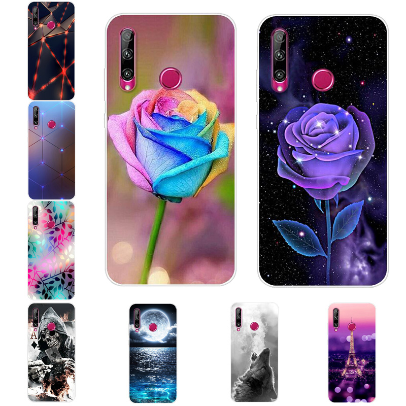 For Huawei Honor 10i Case Honor 10i Cover Print Soft Silicone TPU Cover For Coque Huawei Honor 10i 10 I Honor10i HRY-LX1T Cases