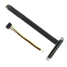 M.2 Phím M Cáp Mở Rộng Để PCIE X16 Card Đồ Họa Nâng Adapter 16x PCI e PCI Thể Hiện Cho NGFF NVMe m2 2230 2242 2260 2280