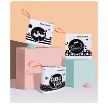 Book 0-12-Months Soft Educational-Toys Newborn-Books Soft-Cloth-Books Safe Gift Can-Hang