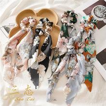 Acessórios para o cabelo feminino bandana moda scrunchies rabo de cavalo titular headbands cabelo cintillos para el pelo mujer