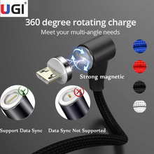 vention micro usb cable 5v 2 4a micro usb 2 0 fast charging data cable 1m 1 5m 2m 3m for mobile phone and tablets black ice blue UGI 90 Degree Magnetic Cable 3A Fast Charging Data Transfer Type C Micro USB Cable IOS Android Mobile Phone Tablets USB Cable 2M