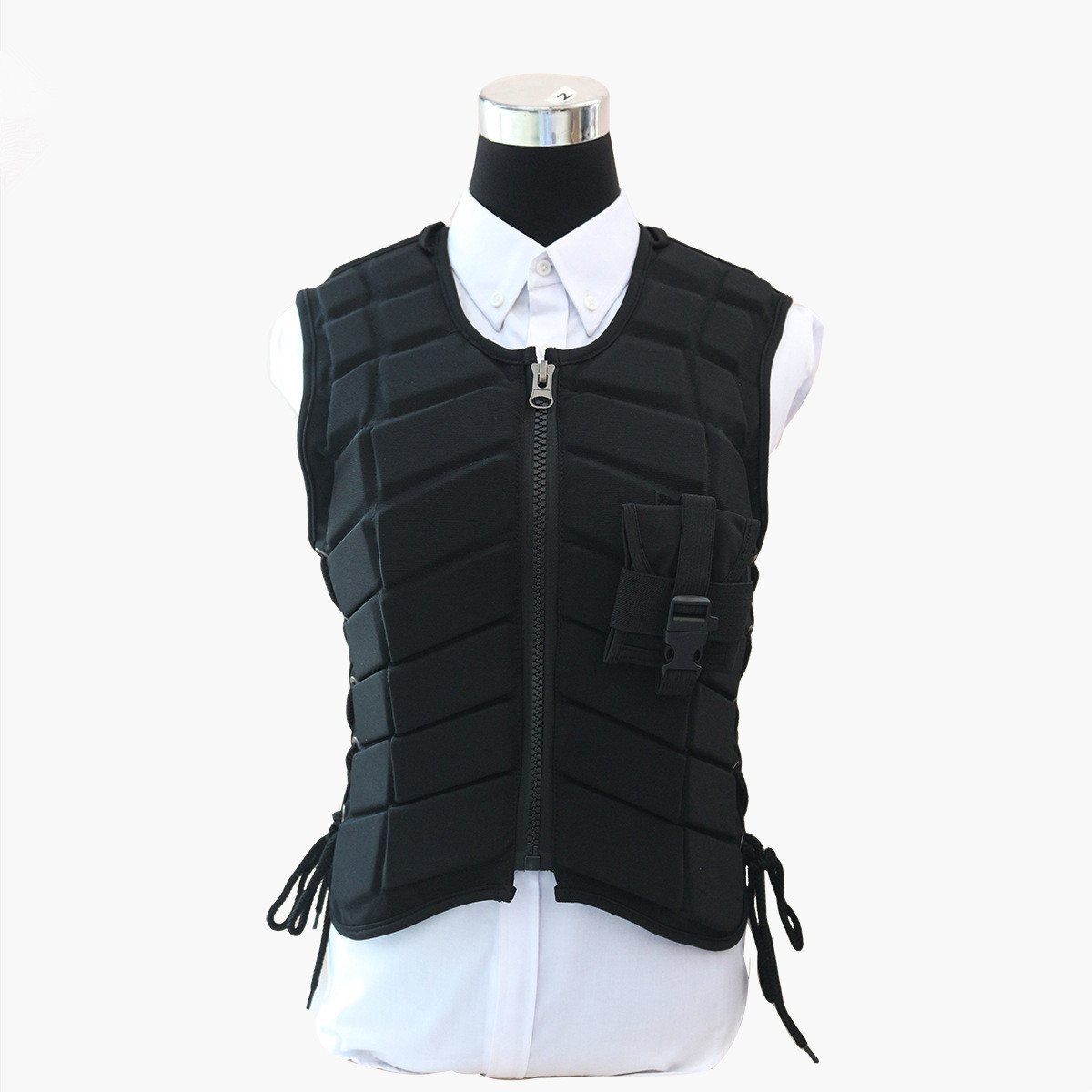 Equestrian Armor Vest Horse-Riding Clothing Protective Clothing Children Knight Equipment Equestrian Unisex  EVA  Padded  Vest 2