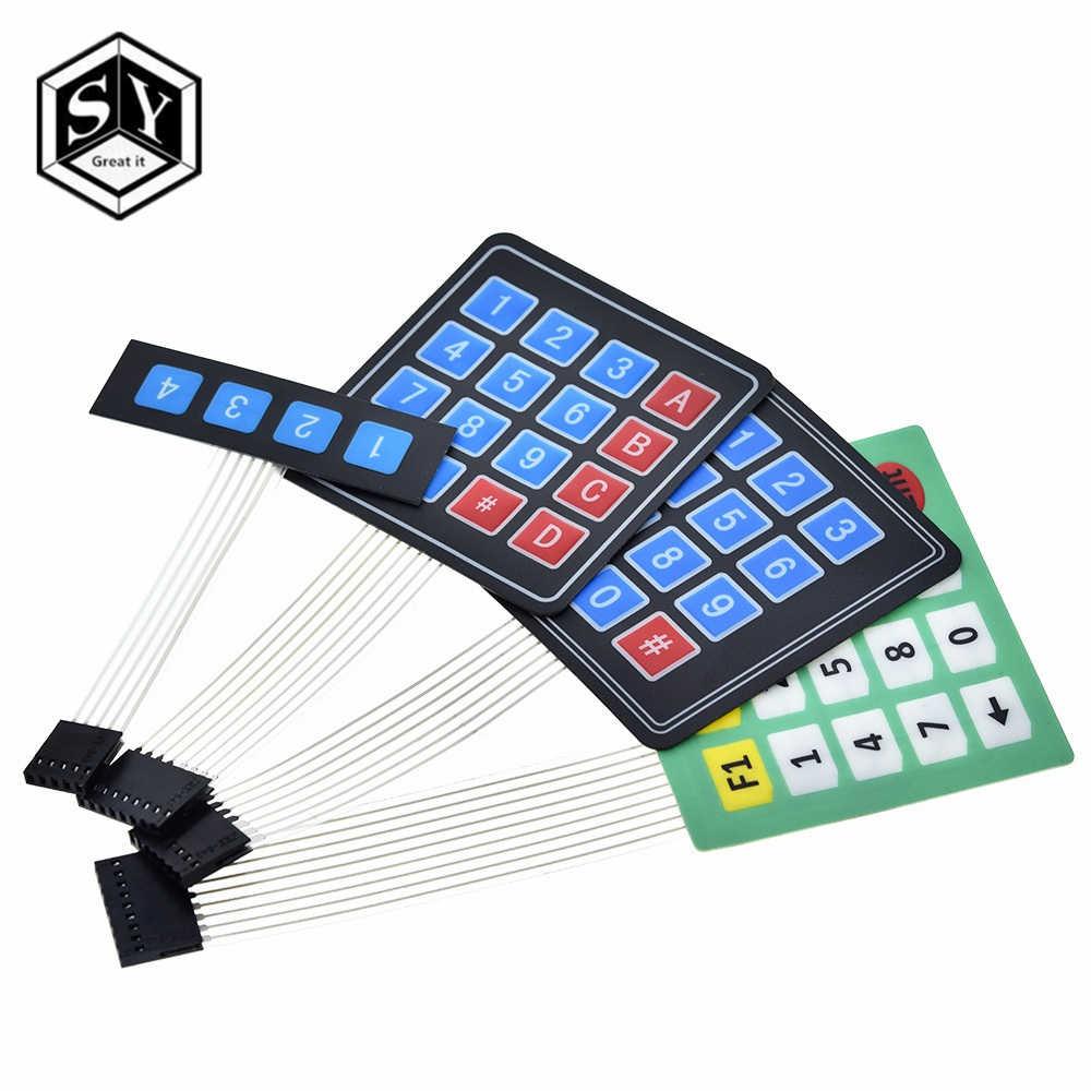 1 pièces Grand 1x4 4X4 Matrice Matrice clavier 4 12 16 20 Clé 3x4 4x5 pour arduino