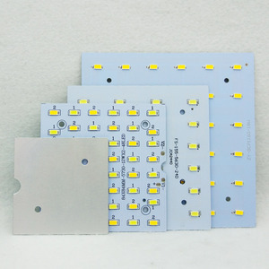 Image 5 - 1/5 مجموعات LED PCB + مجموعات سائق 6W 12W 18W LED النازل الألومنيوم ضوء غرفة التبريد SMD5730 110lm/w ساعة الوقواق مصدر مصباح لوحة