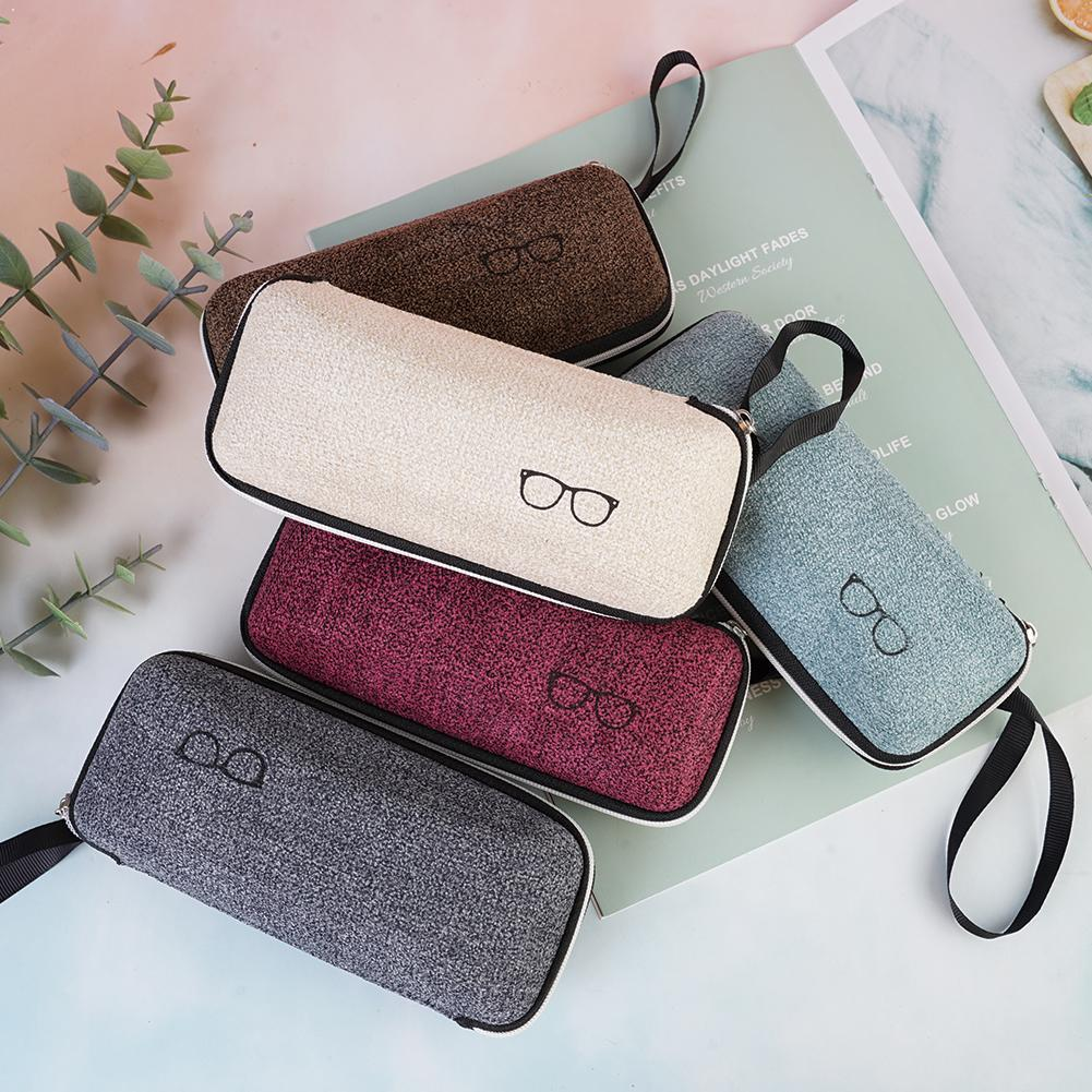 Fashion EVA EyeGlasses Box With Lanyard Zipper Eyeglass Eyewear For Unisex Cases Case Cases Sunglasses Women Cover For Men I7T9