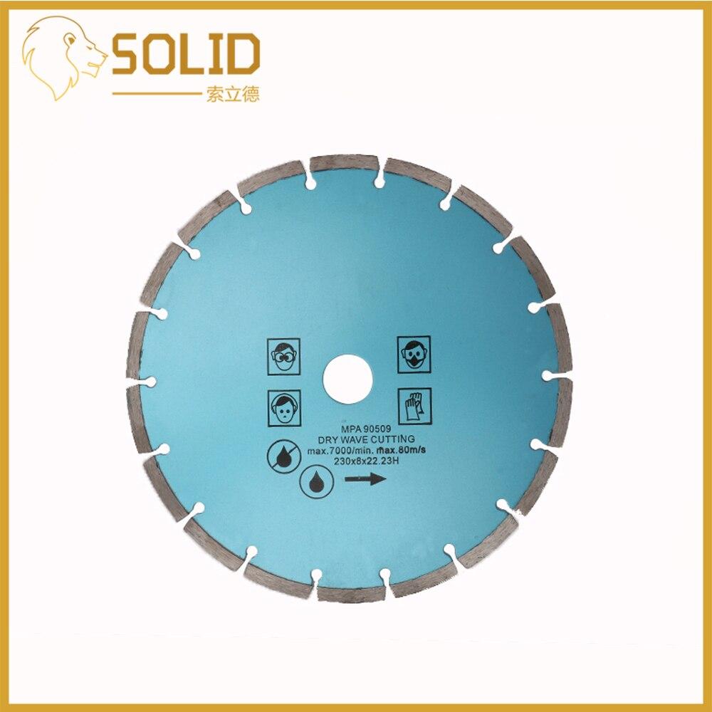 7, 9 Inch Diamond Segment Saw Blade Cutting Disc Wet Dry Circular Cutting Wheel For Cutting Tiles Stone 1Pc