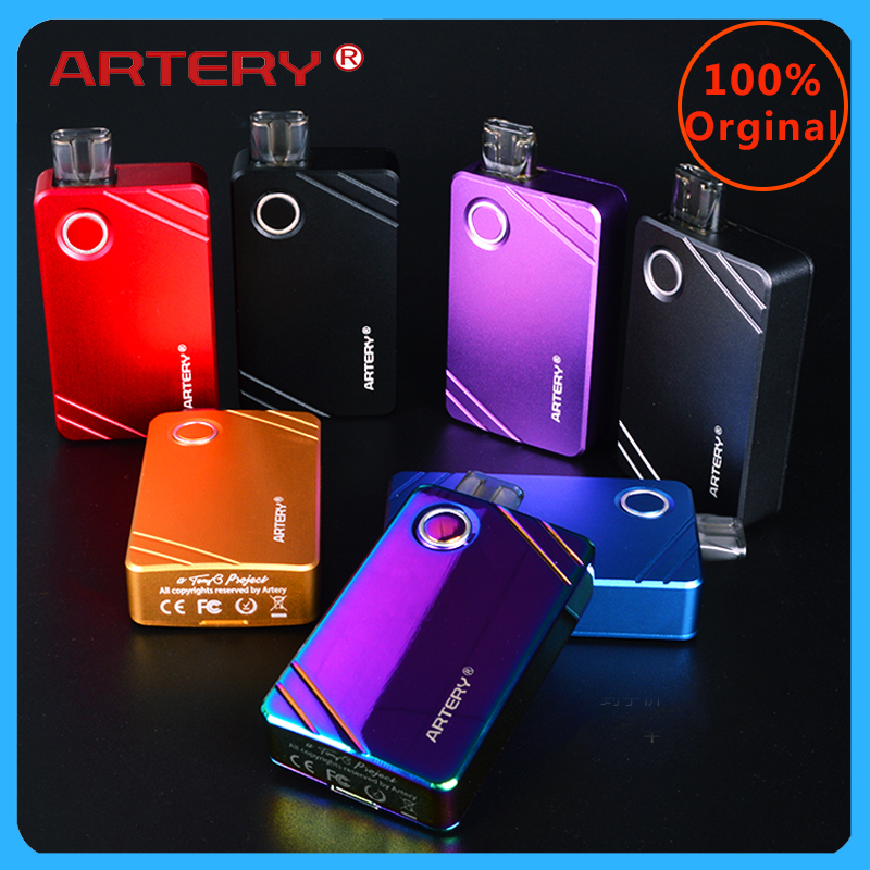 Original Vape Pod Kit Artery Pal AIO 2 Kit 1000mah 3ml Pod 1.0ohm/mesh Coil MTL Upgrade Pal Kit Vs Frenzy Pod/orion DNA