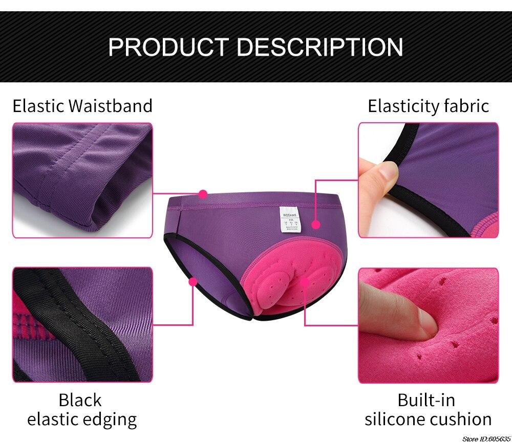 interior com almofadas femininas apertado ciclismo shorts