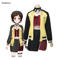 Zhomecos Amine BanG Dream Afterglow Speedy Skies Cosplay Costume Hazawa Tsugumi Full Set Woman Girl Party Costume