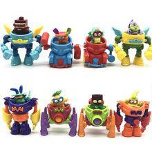 Super zings superzings série 3 superbots robô figuras toycollection bonecas brinquedos (boneca aleatória)