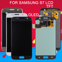 Dinamico S7 LCD For Samsung Galaxy S7 Display G930F G930L G930S G930 Lcd Touch Screen Digitizer Assembly Replacement Free Ship