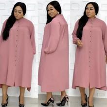 Африканские платья для женщин африканская одежда африканские платья Дашики Дамская одежда Анкара размера плюс африканские длинные платья макси