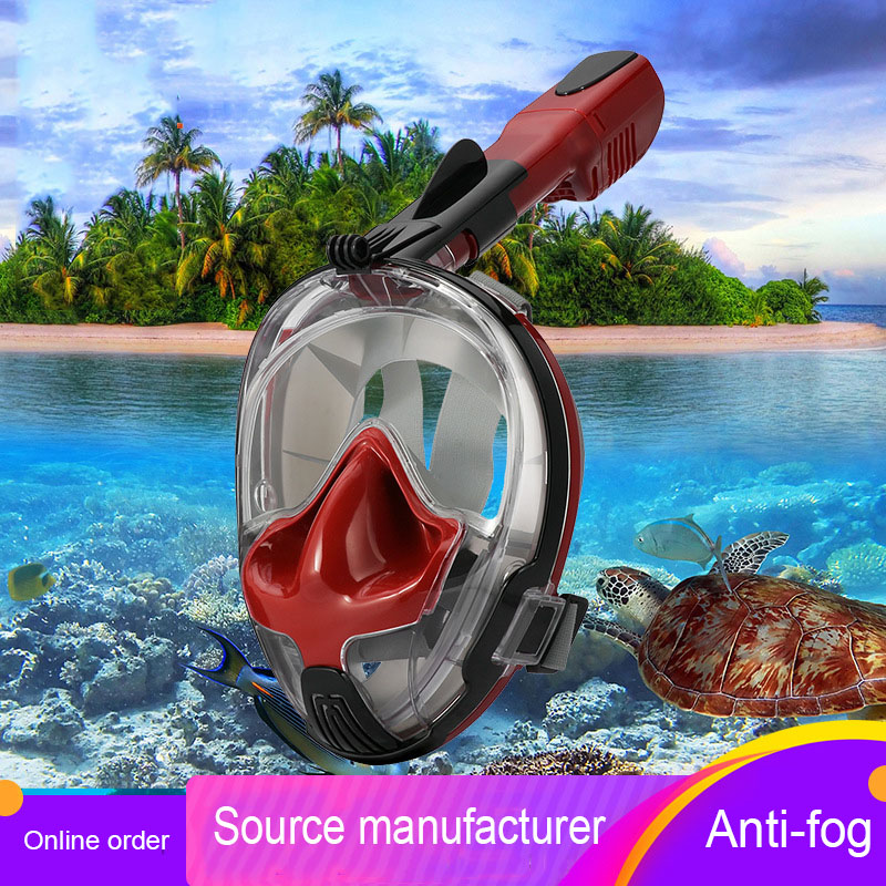 Ear Pressure Balance New Diving Mask Production Breathing Tube Breathing Mask Mirror Set