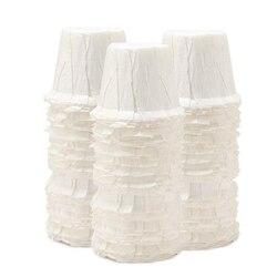 Papierowe filtry do kawy papierowe filtry do kawy s niebielone drewniane kroplówki papierowe w kształcie stożka kawa do jednorazowych filtrów papier K karafka Fi w Filtry do kawy od Dom i ogród na
