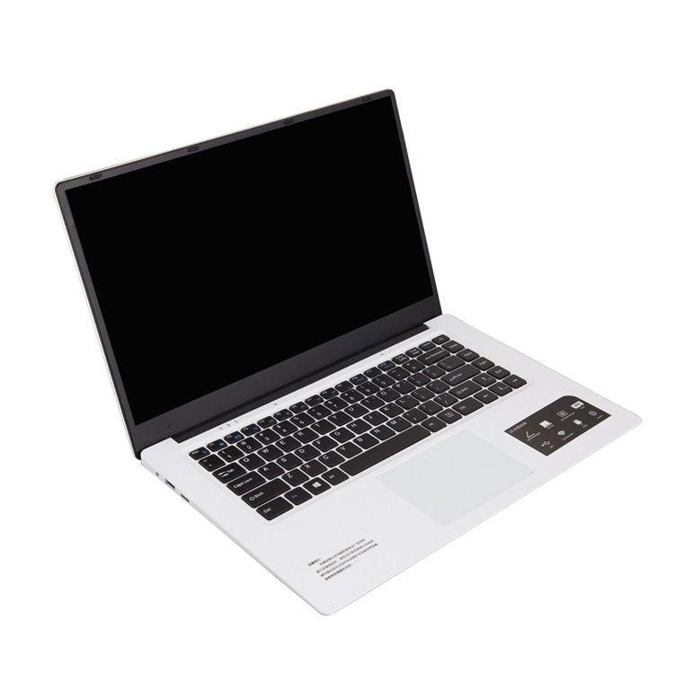 Global Custom 15.6 Inch HD Ultra Thin Notebook 8GB 128GB 2.00GHZ Dual Core Wins10 Laptop Computer