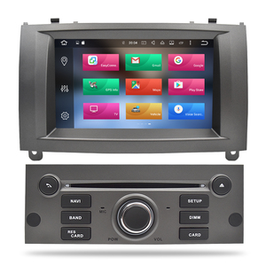 Image 4 - 100% Newest Brand Android 10.0 Car DVD Player GPS Glonass Navigation for Peugeot 407 2004 2010 4GB RAM Multimedia Radio Stereos