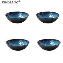 Набор фарфоровых сервировочных мисок kinglang 4 шт японская
