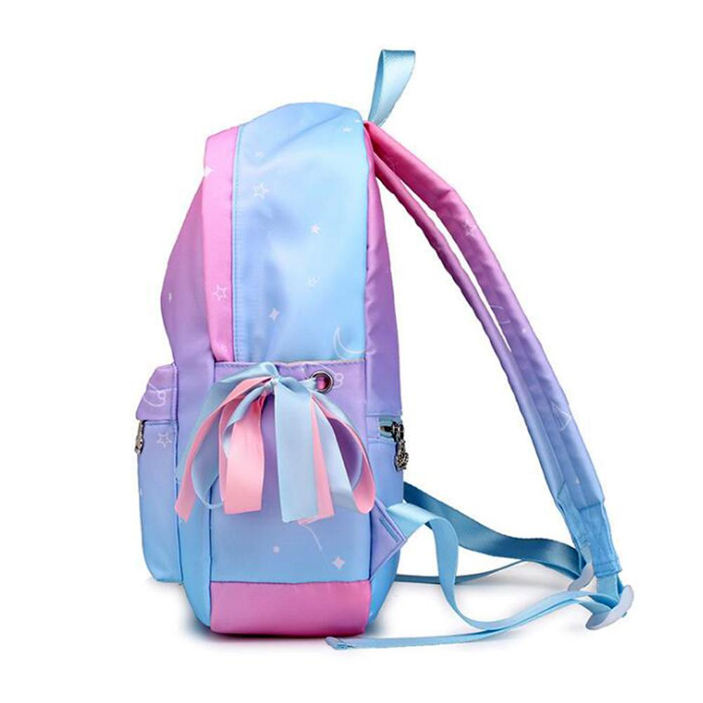 Korean Style Fashion Backpack Nylon Bag For Women Simple Youth Travel Backpack School Student Bags For Teen Girl Women Schoolbag in Backpacks from Luggage Bags