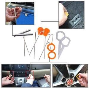 Image 5 - Panneau de porte de lautoradio 12 pièces/ensemble, Clip pour démontage Audio de garniture du tableau de bord pour véhicule automobile BMW