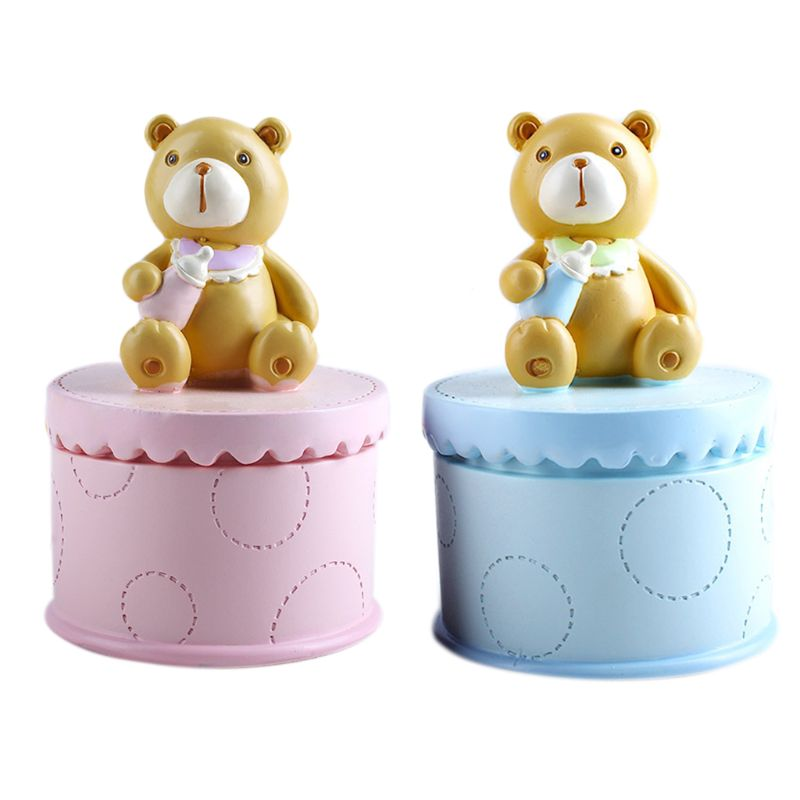 Baby Deciduous Teeth Box Infants Lanugo Collection Boxes Creative Birthday Souvenir Gifts For Children C90B