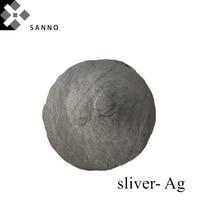 Frete grátis pó de prata alta qualidade 99.99% partículas de prata ag pó para pasta eletrônica  condutora e revestimento