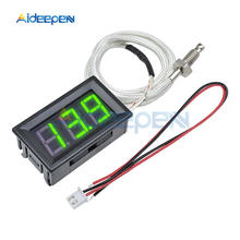 XH-B310 Digital Thermometer 12V Temperature Control Meter K-type M6 Thermocouple Tester -30~800C Thermograph Red LED Display xh b310 digital thermometer 12v temperature meter k type m6 thermocouple tester d28 dropshipping