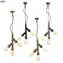 Iwhd 3 головки водопровод подвесные светильники бар кафе ресторан