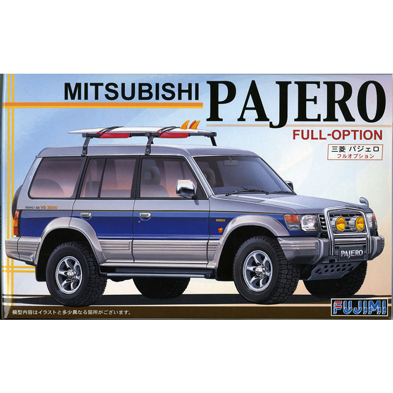 1/24 Mitsubishi Pajero Full Option Assemble Car Model 03797