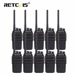 Retevis RT24 PMR Walkie Talkie 10pcs UHF Portable Walkie-Talkie PMR446 Radio Station VOX License-free Transceiver Comunicador