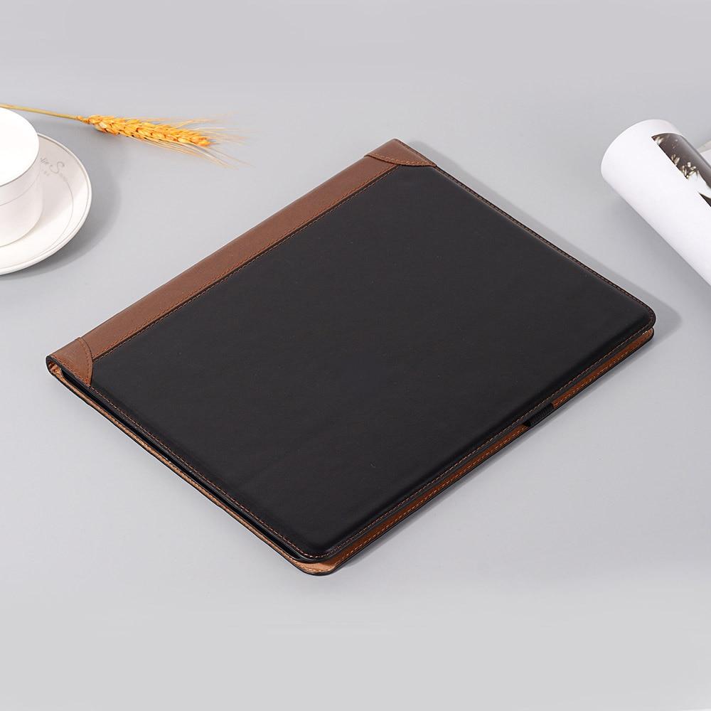 i iPad for Book Pro Case Fold 2020 Folio Smart 12 PU Pad Case iPad Leather 2018 9 for