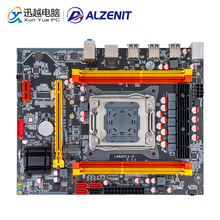 ALZENIT X79-2.72A Motherboard For Intel X79 LGA 2011 Xeon E5 RECC/Non-RECC DDR3 128GB M.2 NVME USB2.0 M-ATX Server Mainboard