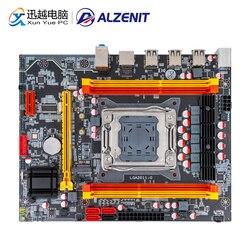 ALZENIT X79M-CE3 placa base Intel X79 LGA 2011 Xeon E5 apoyo ECC REG DDR3 128GB M.2 NVME USB2.0 M-ATX Placa de servidor