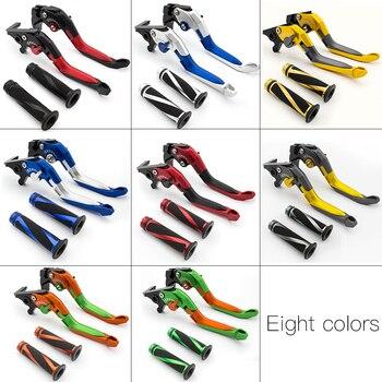 For Honda CBR125 CBR 125 2004-2017 CNC 3D Adjustable Folding Extendable Motorcycle Brake Clutch Levers &Handle Grips Set