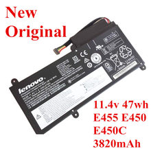цена на New Original Laptop replacement Li-ion Battery for Lenovo E455 E450 E450C 11.4V 47WH 3820mAh