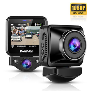 Image 3 - WonVon M5B Car Dash Camera 145° LCD 2.0MP Sony IMX307 IR Night Vision WiFi Dash Cam HD 1080P Dual DVR G Sensor Loop Recorrding