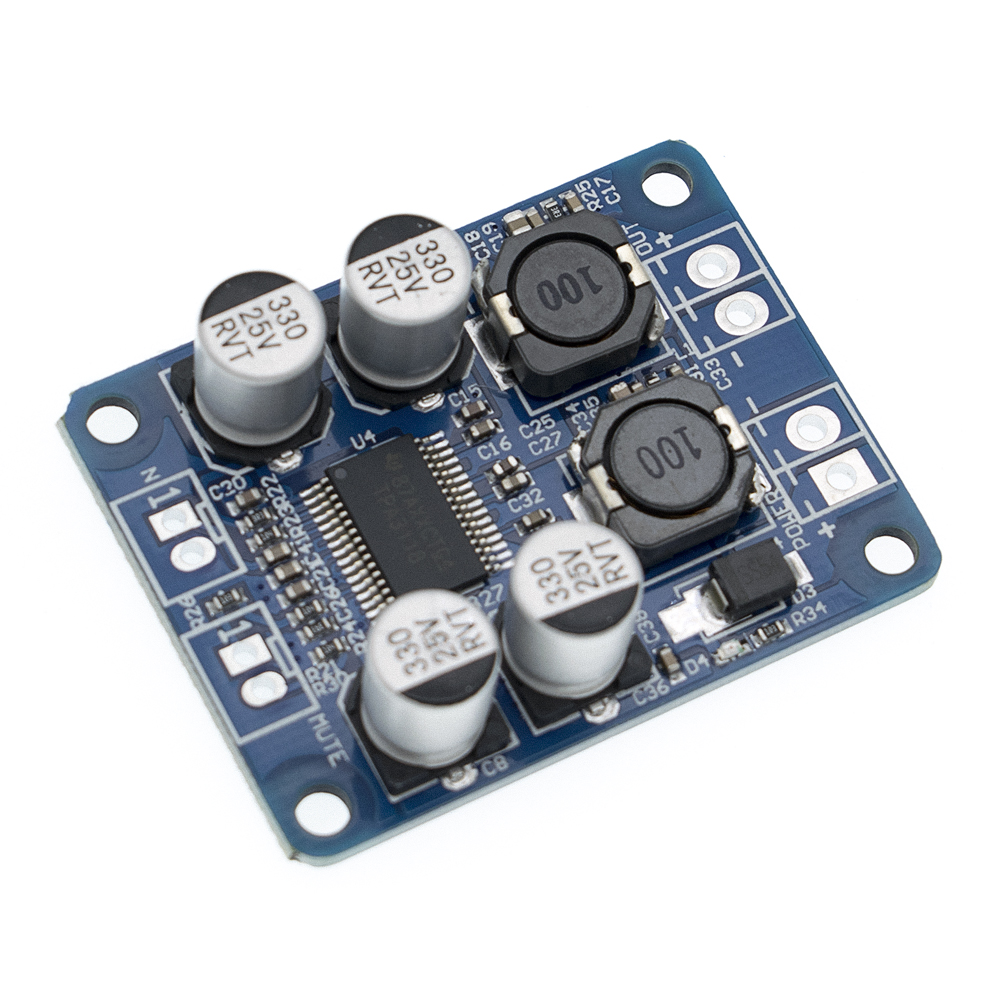 Image 4 - DC8 24V TPA3118 PBTL 60W Mono Digital Audio Amplifier Board AMP Module Chip 1X60W 4 8 Ohms-in Integrated Circuits from Electronic Components & Supplies