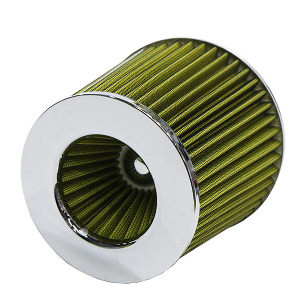Car Universal Air Filter 3 Inches For Cold Air Intake Large Flow 76mm High Performance Breathing Filter For BMW E46 Toyota Honda