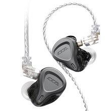 Cca Csn 1BA + 1DD Hybrid Ruisonderdrukking Koptelefoon In Ear Oordopjes Monitor Hoofdtelefoon Hifi Headset Voor Kz Zsn Pro zsx ZS10 Pro Zax