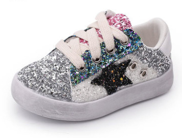 Shoes Sneakers Shoe-Trainer Glitter Baby-Boy Girl Breathable Casual Fashion Kid Children