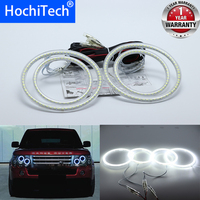 For Land Rover Range Rover L322 Vogue 2003 2009 XENON light Ultra bright SMD white LED angel eyes 12V halo ring kit day light