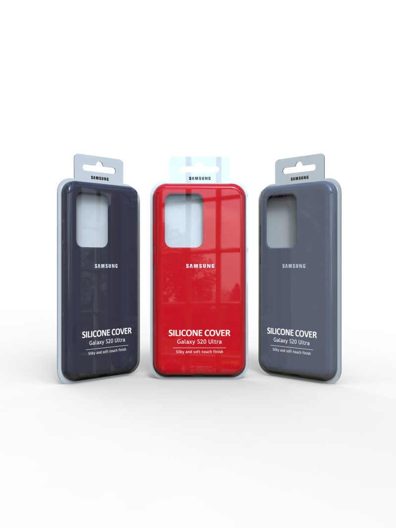 Coque S20 originale Samsung Galaxy S20Ultra S20plus housse Silicone soyeuse de haute qualité dos doux au toucher protection Galaxy S20 + plus