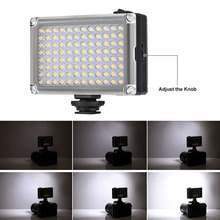 Mini LED DSLR Camera Fill Light 5400k/3200k Easy Installation GV99