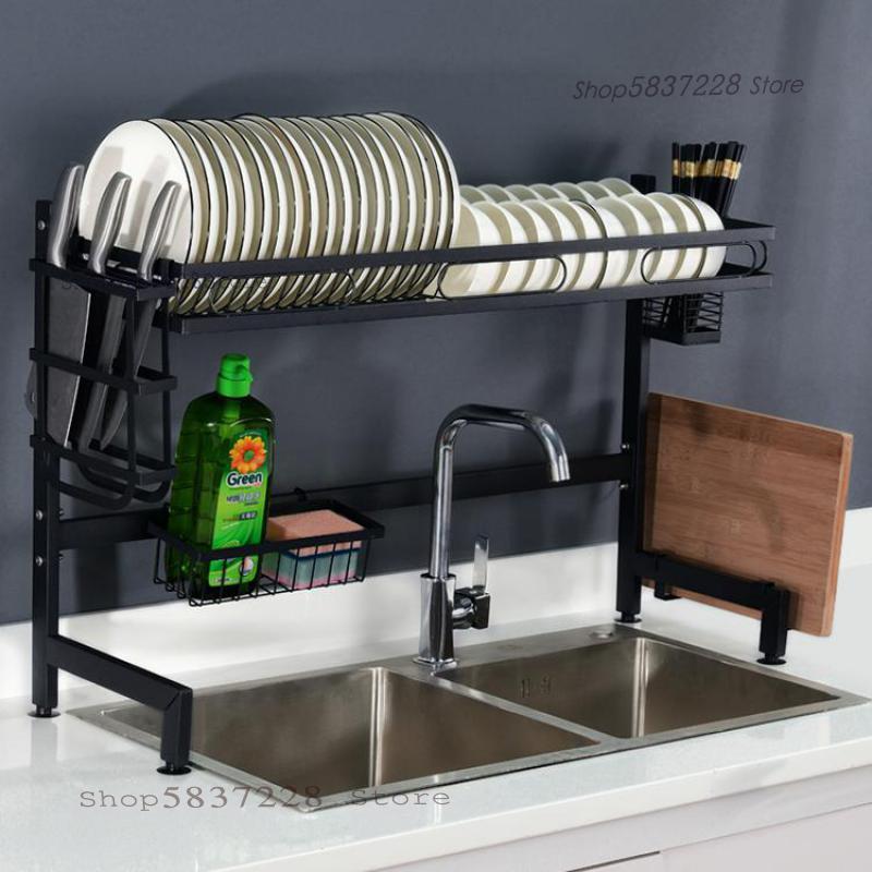 Кухонные полки, сливные полки для посуды и палочек для еды, посуда, сливной шкаф, коробка для хранения, новая стойка для посуды